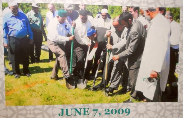 00 - Prince George Islamic Centre - Ground Breaking - June 7 2009