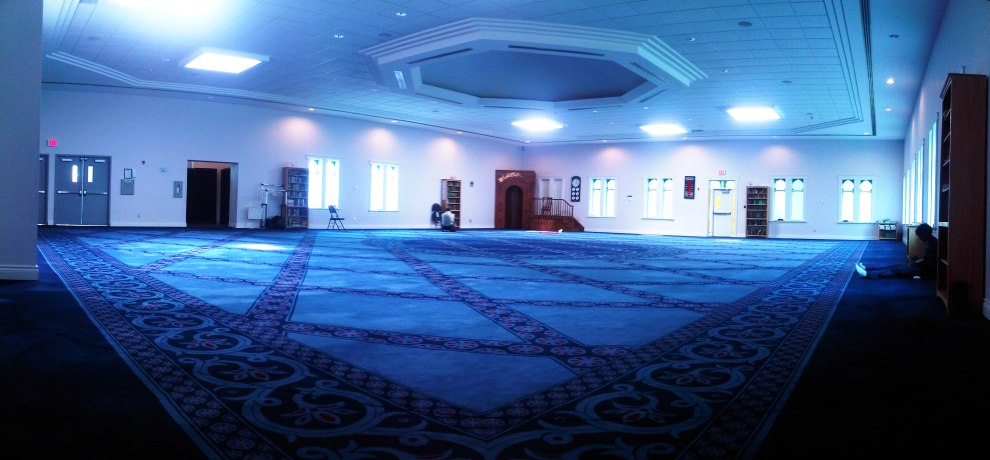 12 - London Muslim Mosque Main Prayer Hall Carpet