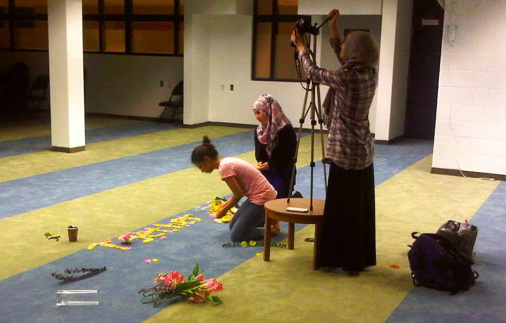 27 - Together We Flourish stop motion video recording at Rose City Islamic Centre Monday July 15 2013