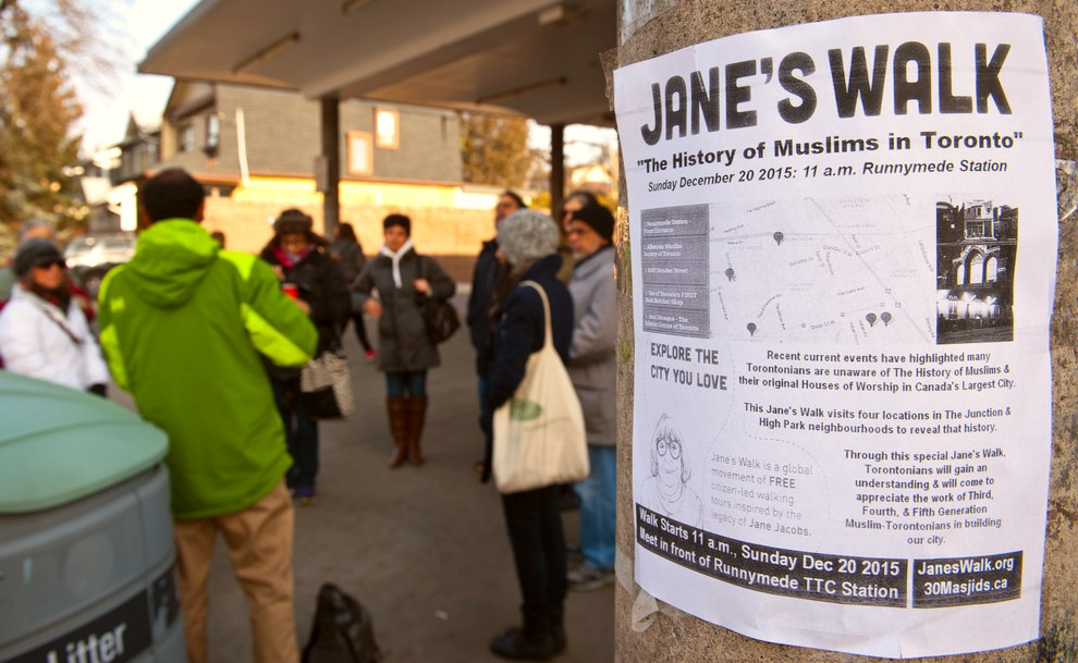 Walking Toronto through its Muslim history A Sunday Jane's Walk will take participants through the west end, touring the site of city's first mosque and other Islamic touchstones.