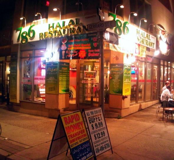 Indian Restaurants Toronto Gerrard Street
