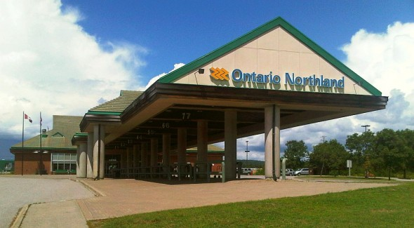 02 - Ontario Northland Terminal, North Bay - Monday July 29 2013