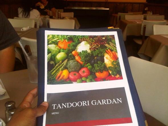 03 - Tandoor Gardan Menu, Sault Ste Marie, Thursday July 25 2013
