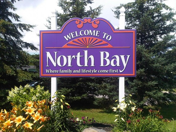 03 - Welcome to North Bay sign - Monday July 29 2013