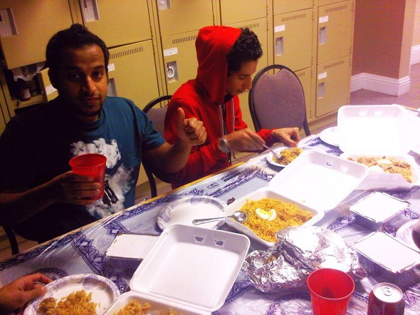 10 - Thumbs Up, Iftar Dinner from Tandoori Gardan, Thursday July 25 2013