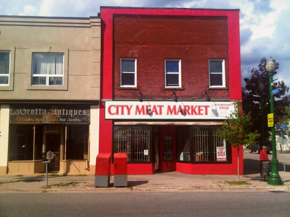 12 - City Meat Market, 814 Queen Street East, Sault Ste Marie, Thursday July 25 2013