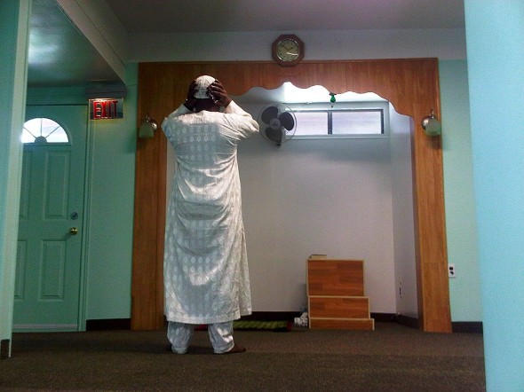 Adhan Al Jumah Friday Call to Prayer Noor E Islam Madressah Windsor - Friday July 19 2013