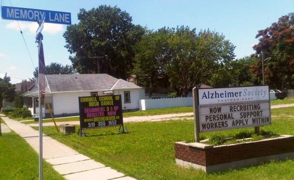 Alzheimer Society Chatham-Kent Saturday July 27 2013