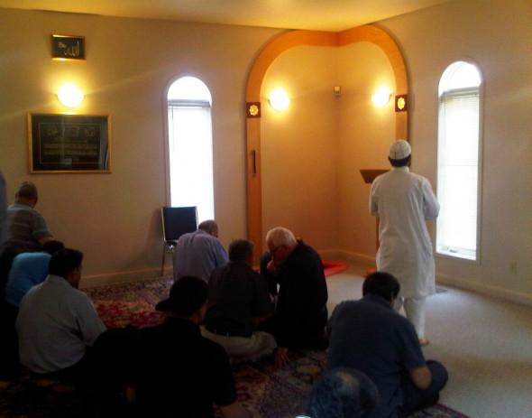 Before Jumah - Prayer Hall - Islamic Association of Sudbury - Friday July 26 2013