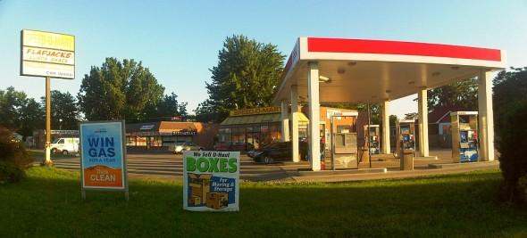 Esso Gas Station, Chatham - Saturday July 13 2013
