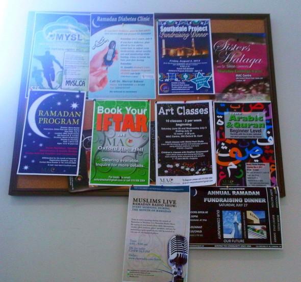 London MAC Youth Centre Bulletin Board - July 9 2013
