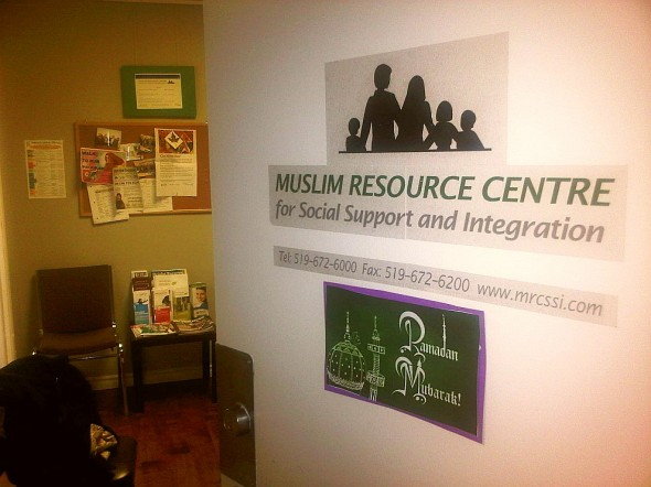 Muslim Resource Centre for Social Service Integration London Front Door - Friday July 12 2013
