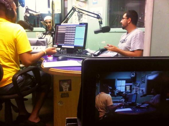 Muslims Live RAMADAN Radio Show Studio - Western University's Campus Community Radio Station, London - Friday July 12 2013