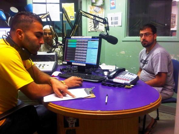 Muslims Live RAMADAN Radio Show in Studio - Western University's Campus Community Radio Station, London - Friday July 12 2013