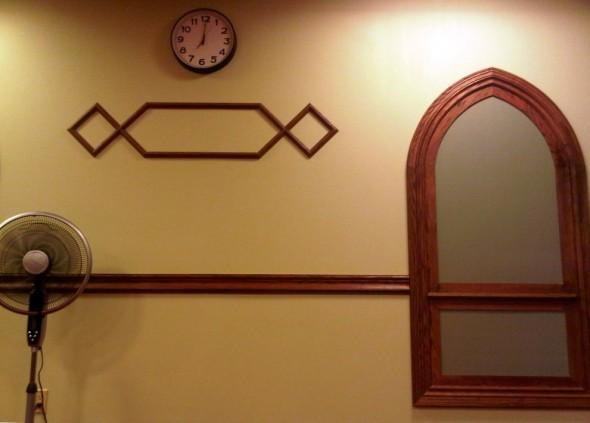Night 1 - Masjid Toronto at Adelaide eastern front wall design Monday July 8 2013