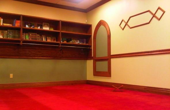 Night 1 - Masjid Toronto at Adelaide north east corner of prayer hall Monday July 8 2013