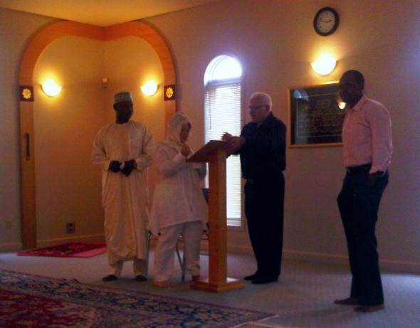 Nikah Ceremony - Islamic Association of Sudbury - Friday July 26 2013 - 07