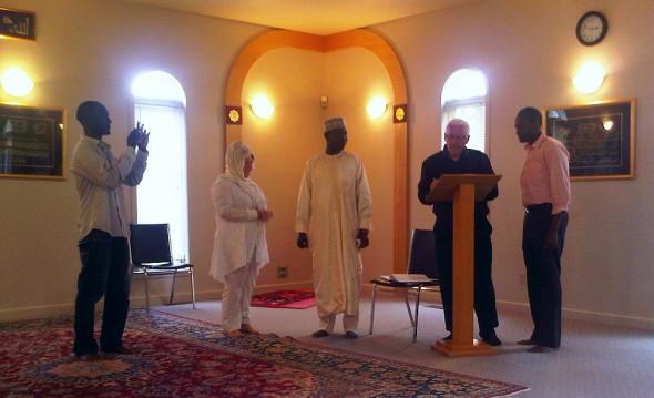 Nikah Ceremony - Islamic Association of Sudbury - Friday July 26 2013 - 08