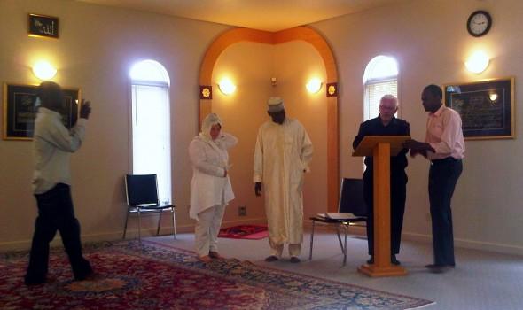Nikah Ceremony - Islamic Association of Sudbury - Friday July 26 2013 - 09