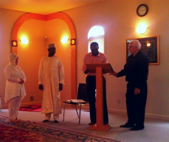 Nikah Ceremony - Islamic Association of Sudbury - Friday July 26 2013 - 10