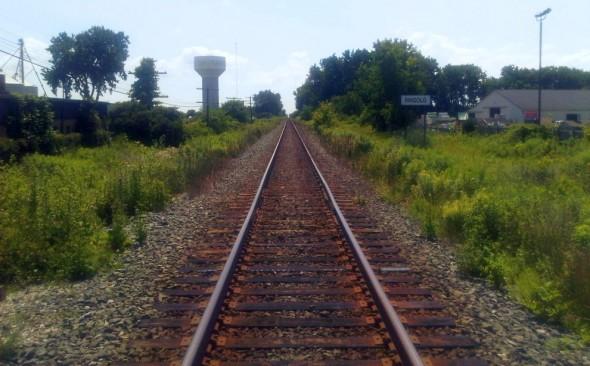 Railroad tracks in Walkerville, Saturday July 13 2013