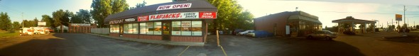corner strip mall property owned by Brother Hassan, Chatham - Saturday July 13 2013