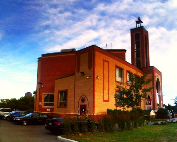01 - Gatineau Mosque - Centre Islamique de l'Outaouais, 4 rue Lois, Hull, Gatineau, Quebec - Friday August 2 2013