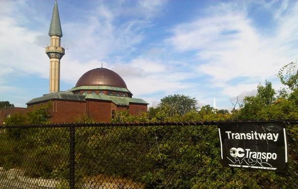02 - Ottawa Main Mosque, Beside OCTranspo BRT Transitway, Jumah Friday August 2 2013