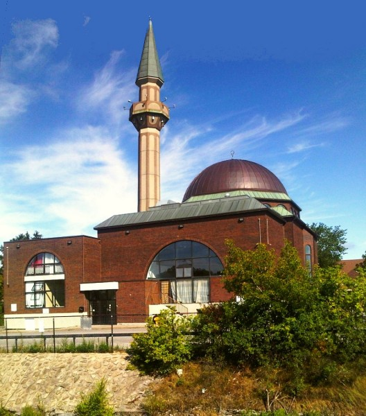 03 - Ottawa Main Mosque, Beside OCTranspo BRT Transitway, Jumah Friday August 2 2013