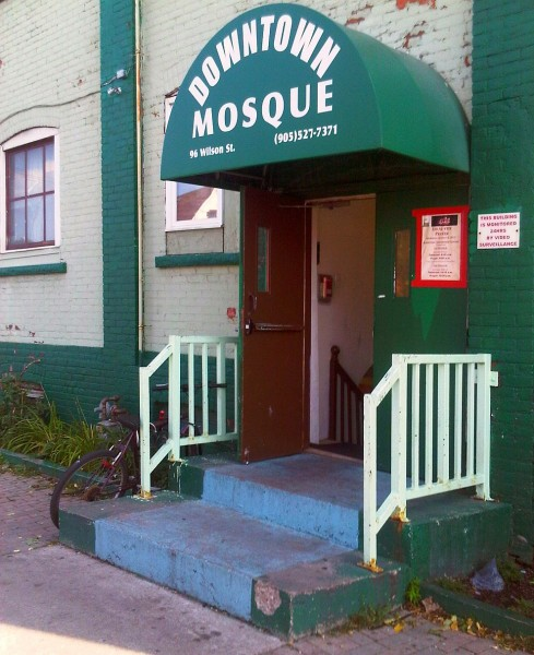 04 - Hamilton Downtown Mosque Front Steps, 96 Wilson Street - Wednesday August 7 2013