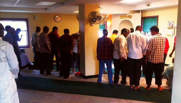 06 - Hamilton Downtown Mosque - Salat al Asr, Late Afternoon Prayer - Wednesday August 7 2013