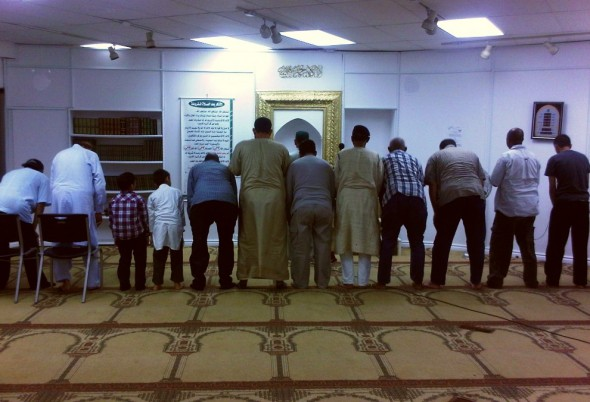 09 - Ibrahim Jam-E Mosque - Salat al Isha Prayer - Hamilton Ontario - Wednesday August 7 2013