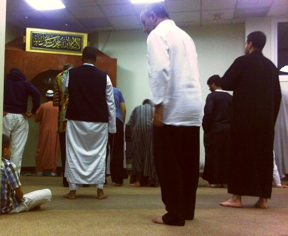 12 - Sunnah before Fajr Prayers, The Mosque of Aylmer, Quebec - Wednesday July 31 2013