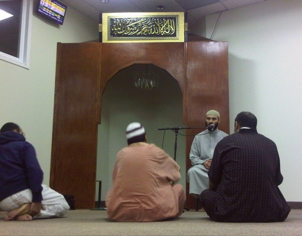 13 - After Fajr, Islamic Reminder, The Mosque of Aylmer, Quebec - Wednesday July 30 2013