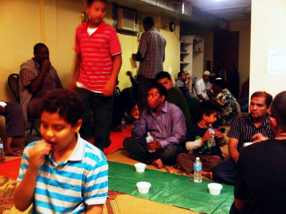 24 - Iftar, Dates and Milk, Hamilton Downtown Mosque - Wednesday August 7 2013