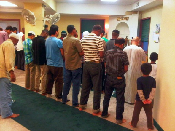 27 - Iqama for Salat al Maghrib, Hamilton Downtown Mosque - Wednesday August 7 2013
