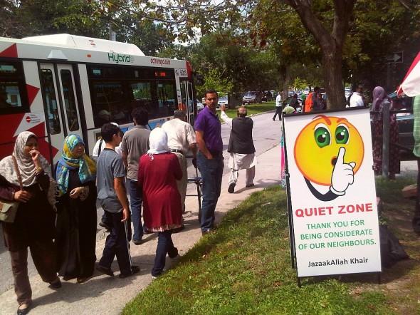 40 - After Jumah Prayers, Ottawa Main Mosque, Jumah Friday August 2 2013