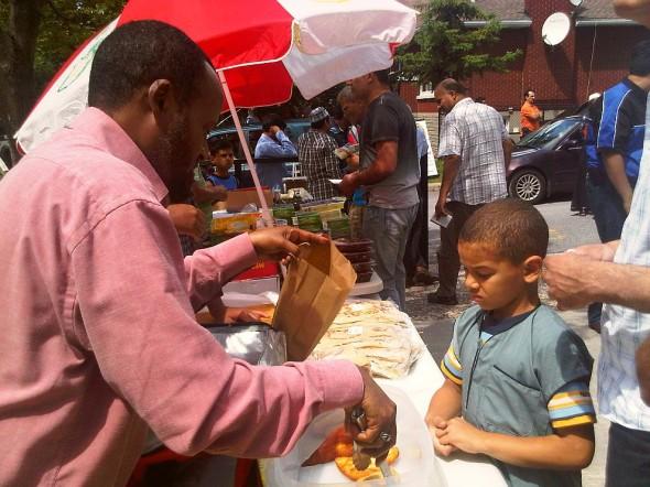 41 - After Jumah Prayers, Ottawa Main Mosque, Jumah Friday August 2 2013