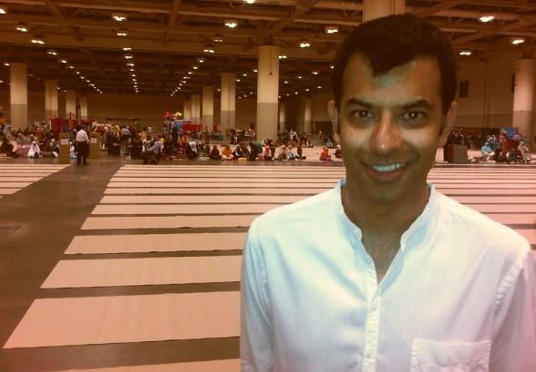 Zaib Shaikh at GTA Eid al Fitr, Metro Toronto Convention Centre, Thursday August 8 2013