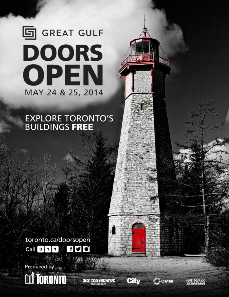 doors open toronto 2014 official poster