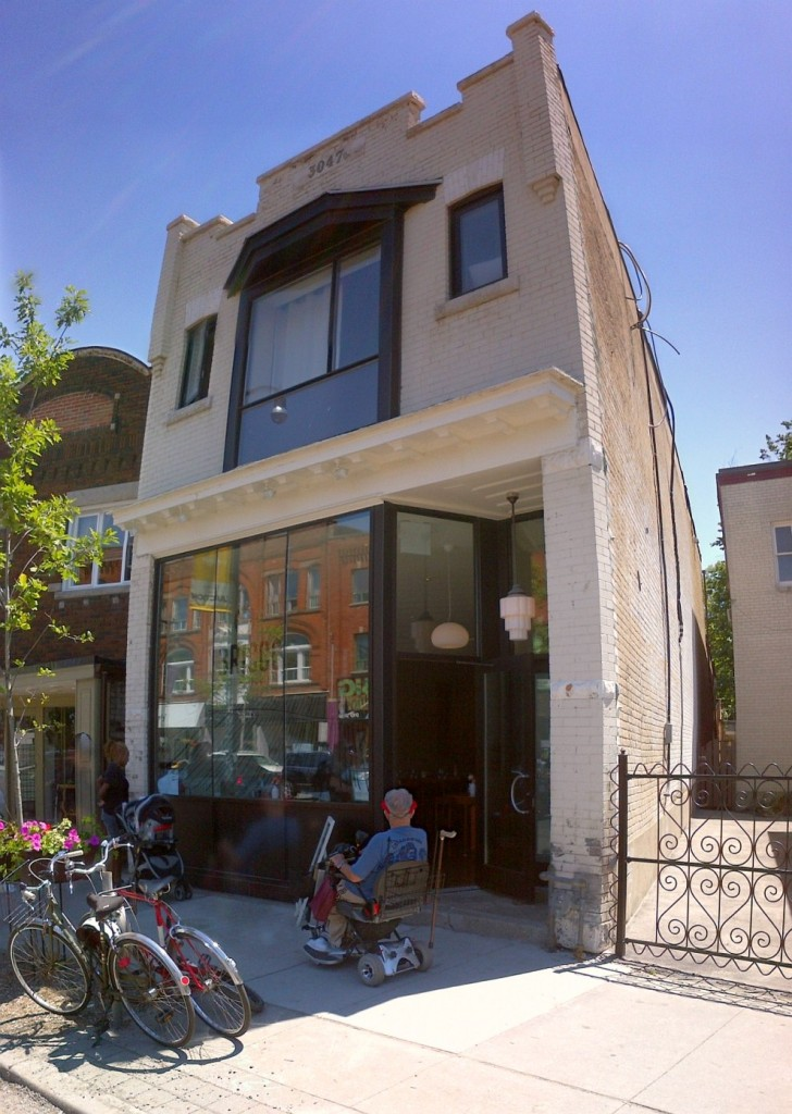 bricco kitchen and wine bar at 3047 dundas street west toronto in the junction