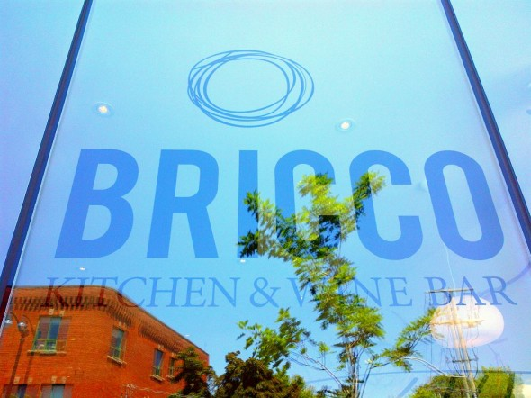 bricco kitchen and wine bar at 3047 dundas street west toronto window in the junction