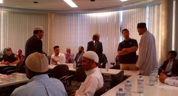 31 Division Community Response Unit, Muslim Community Iftar Dinner - 002