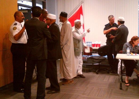 31 Division Community Response Unit, Muslim Community Iftar Dinner - 006