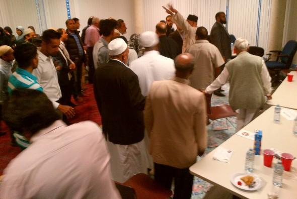 31 Division Community Response Unit, Muslim Community Iftar Dinner - 014