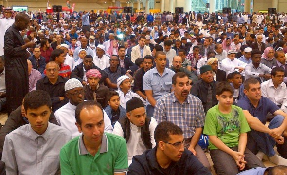 GTA Eid al Fitr - Congregation - Muslim Association of Canada - Metro Toronto Convention Centre - Monday July 28 2014