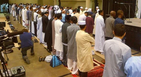 GTA Eid al Fitr - Iqamah - Muslim Association of Canada - Metro Toronto Convention Centre - Monday July 28 2014