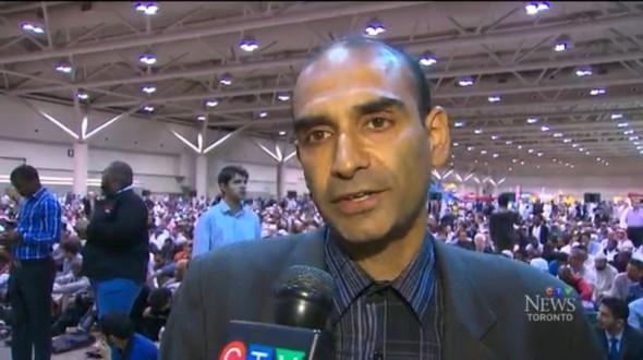 HiMY SYeD - CTV Toronto News - GTA Eid - Monday July 28 2014 - b