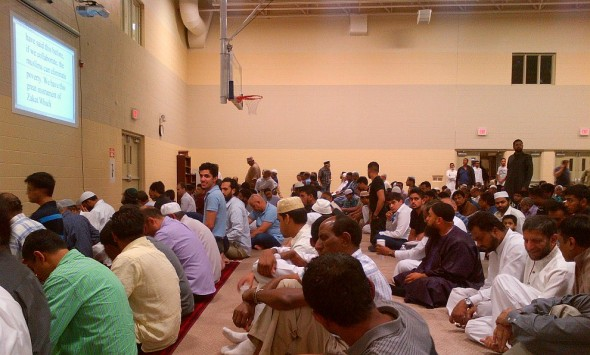 Iftar and Lecture Program, Islamic Institute of Toronto, Saturday July 09 2014 - assembly