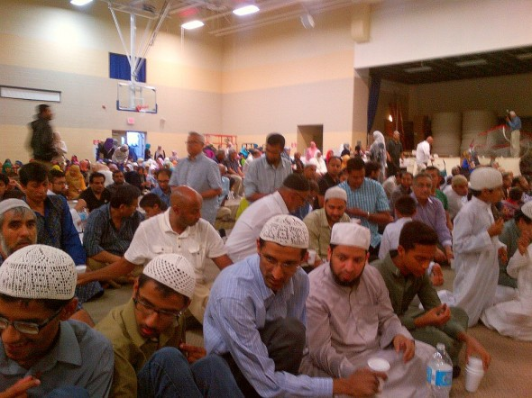 Iftar and Lecture Program, Islamic Institute of Toronto, Saturday July 09 2014 - iftar breaking the fast